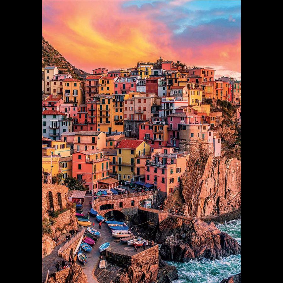 Manarola - Cinque Terre - Italië - 300XXL stukjes-1