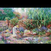 thumb-Son jardin - puzzle de 300XXL pièces-1