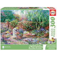 thumb-Her garden - puzzle of 300XXL pieces-2