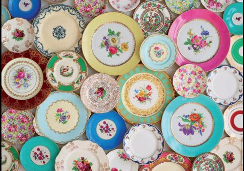 Collage d'assiettes - 300XXL pièces
