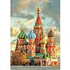 Educa Basiliuskathedraal - Moskou- legpuzzel van 1000 stukjes