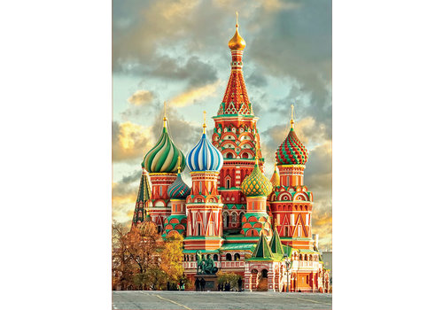St Basil's Cathedral - Moscou - 1000 pieces