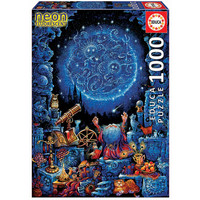 thumb-L'astrologue - Glow in the Dark - puzzle 1000 pièces-3