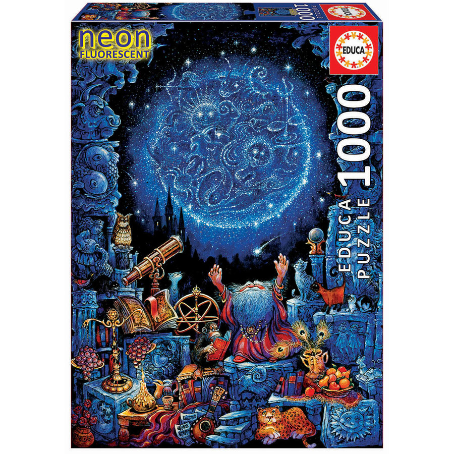Astrologer - Glow in the Dark - puzzle 1000 pieces-3