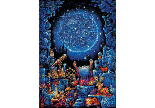 L'astrologue - Glow in the Dark - puzzle 1000 pièces