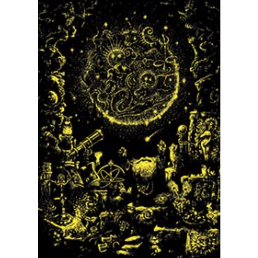 De astroloog - Glow in the Dark - puzzel 1000 stukjes-2
