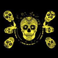 thumb-Sugar Skulls - Glow in the Dark - puzzle 1000 pieces-2