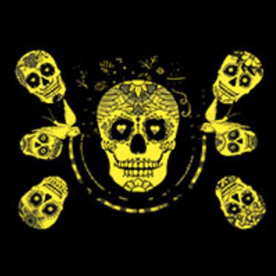 Sugar Skulls - Glow in the Dark - puzzle 1000 pieces-2