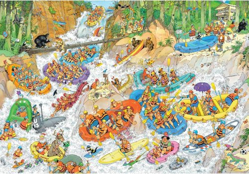 Wild Water Rafting - JvH - 3000 pieces