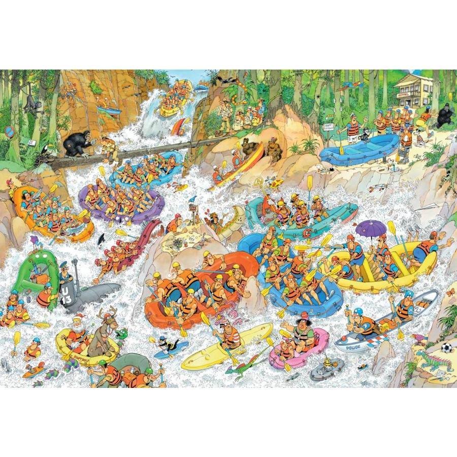 Wild Water Raften - JvH - 3000 stukjes-1