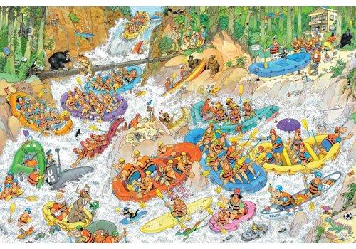 Jumbo Rafting en eau vive - JvH - 1500 pièces