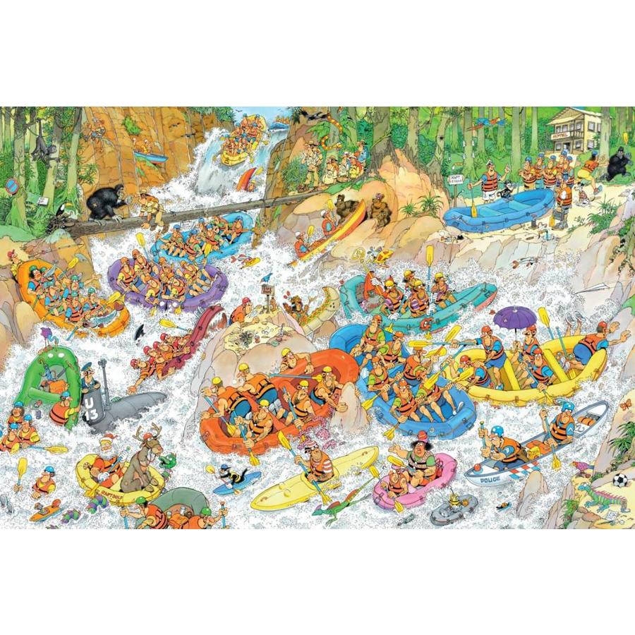 Wild Water Raften - JvH - 1500 stukjes-1