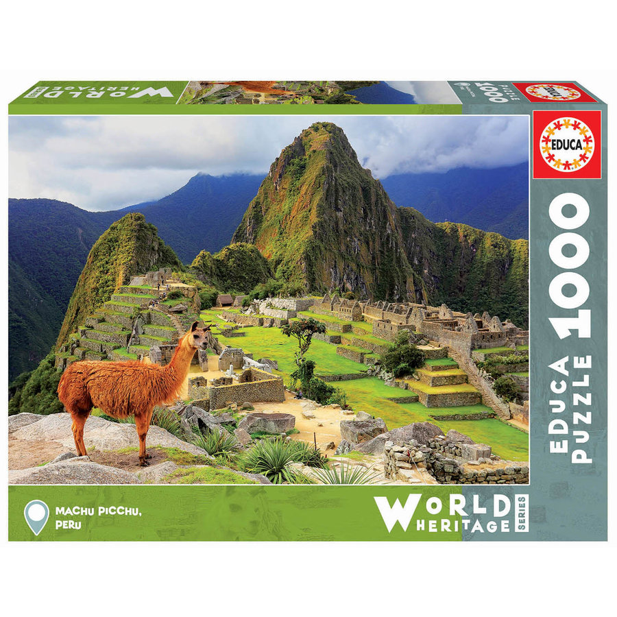 Machu Picchu - Peru  -  jigsaw puzzle of 1000 pieces-2