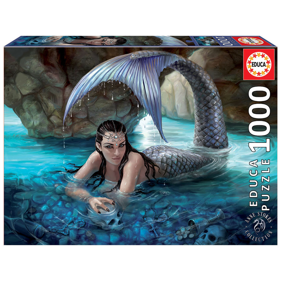 Hidden Depths - Anne Stokes  - jigsaw puzzle of 1000 pieces-2