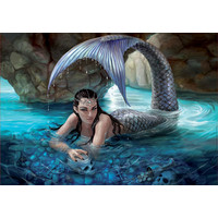 Hidden Depths - Anne Stokes  - jigsaw puzzle of 1000 pieces