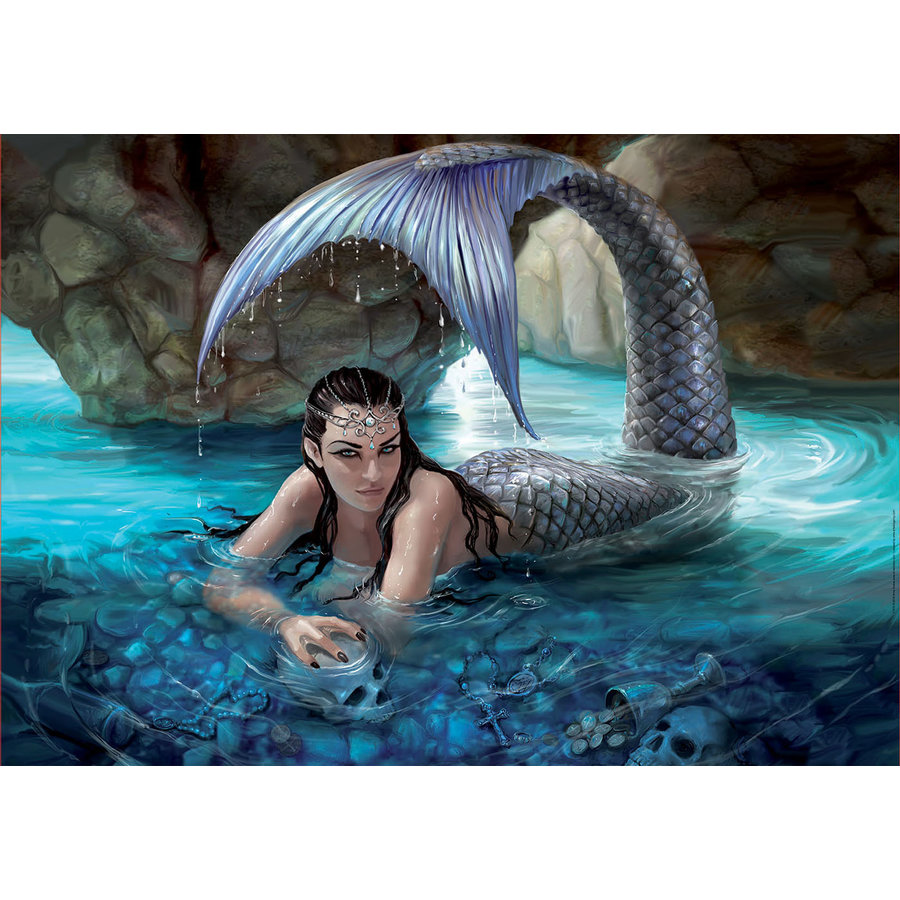 Hidden Depths - Anne Stokes  - jigsaw puzzle of 1000 pieces-1