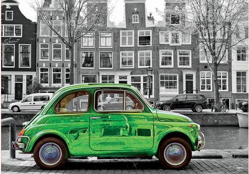 Auto in Amsterdam - 1000 stukjes