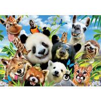 thumb-Llama Drama Selfie  - puzzle de 1000 pièces-1
