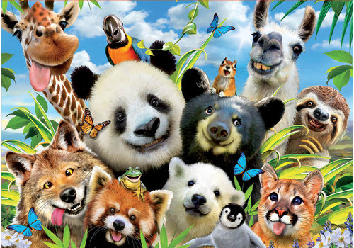Llama Drama Selfie - 1000 pieces