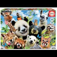 thumb-Llama Drama Selfie  - puzzle de 1000 pièces-2