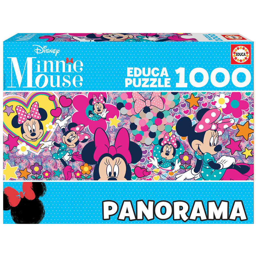 Minnie Mouse  -  jigsaw puzzle of 1000 pieces - Panoramic puzzle-2