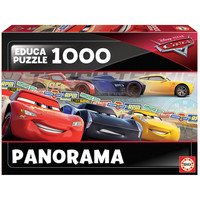 thumb-Cars - jigsaw puzzle of 1000 pieces - Panoramic puzzle-2