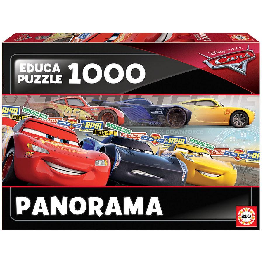 Cars  - legpuzzel van 1000 stukjes - Panoramische puzzel-2