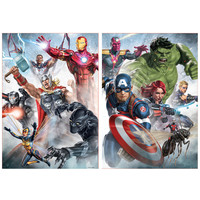 Marvel Mania - 2 x 500 pieces puzzle