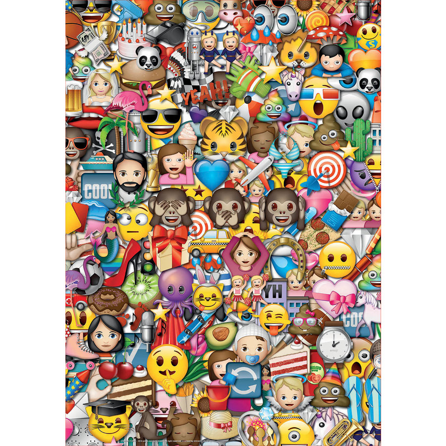 Emoji - 2 x 500 stukjes legpuzzel-2