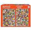 Educa Emoji - 2 x 500 pieces puzzle