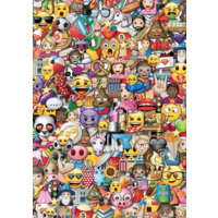 thumb-Emoji - 2 x 500 pieces puzzle-3