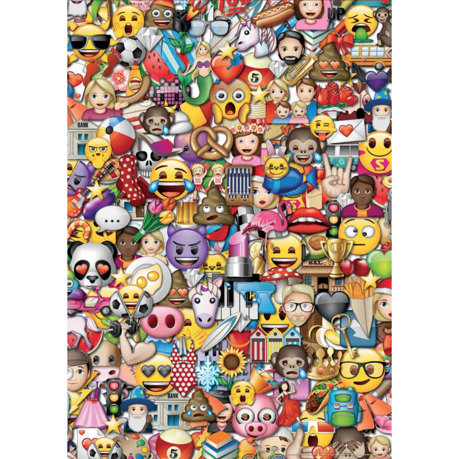 Emoji - 2 x 500 pieces puzzle-3