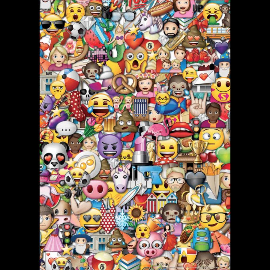 Emoji - 2 x 500 stukjes legpuzzel-3