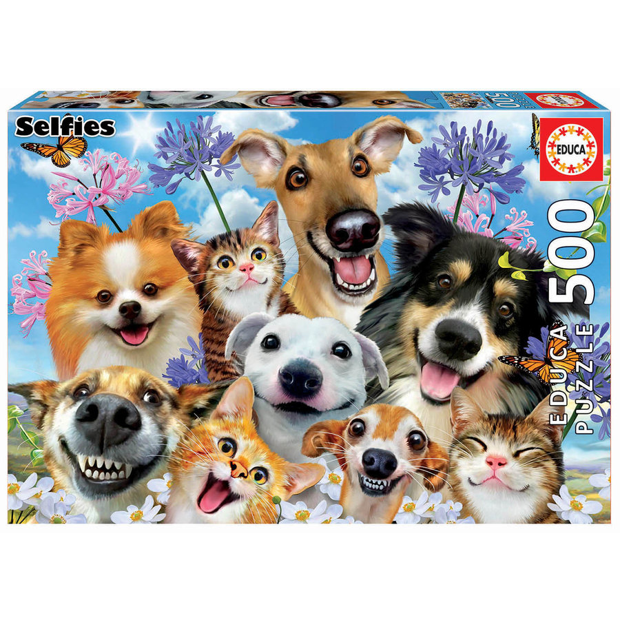 Fun in the sun Selfie -  jigsaw puzzle of 500 pieces-2