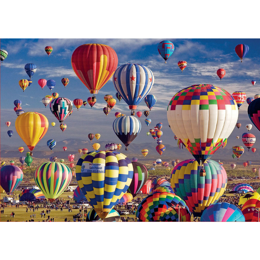 Hot Air Balloons - jigsaw puzzle of 1500 pieces-1