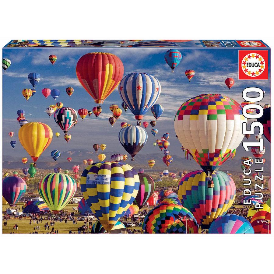 Luchtballonnen - legpuzzel van 1500 stukjes-2