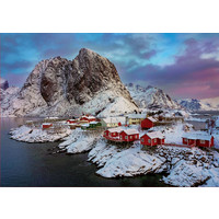 thumb-Lofoten Islands in Norway  - jigsaw puzzle of 1500 pieces-1