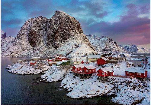 Lofoten eilanden in Noorwegen - 1500 stukjes