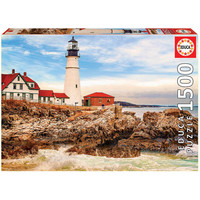 thumb-Rocky Lighthouse - jigsaw puzzle of 1500 pieces-2
