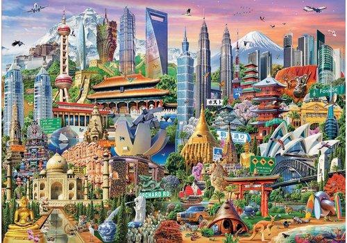 Symbolen van Azië - 1500 stukjes