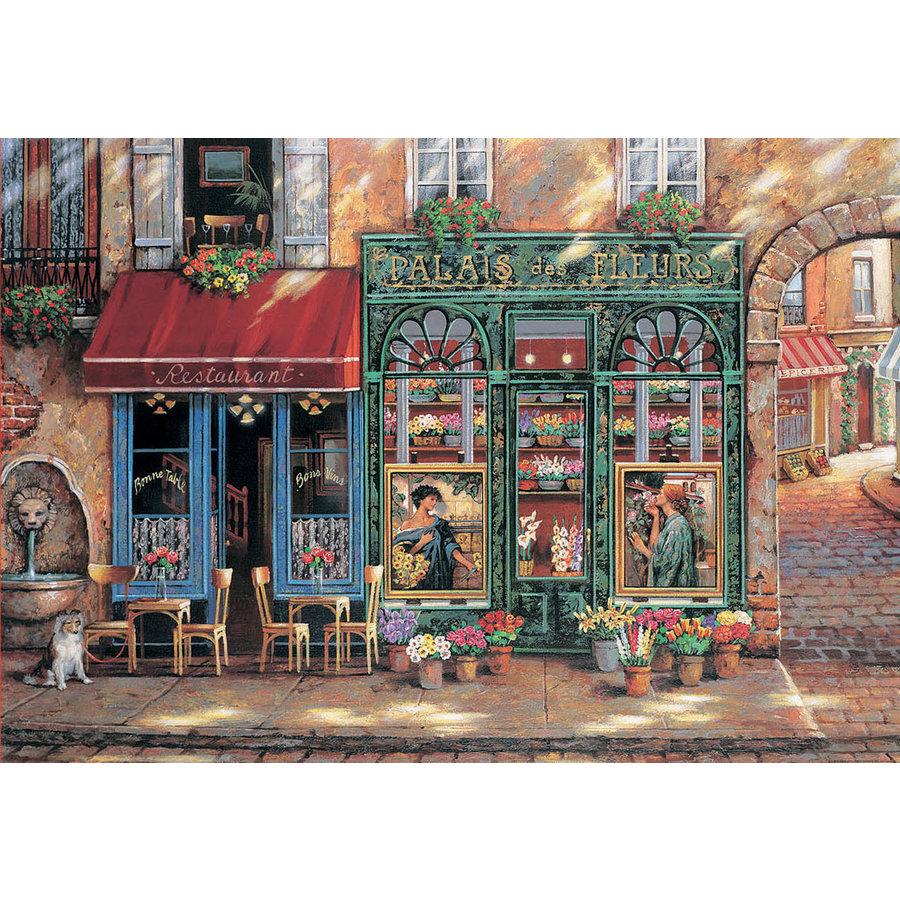 Bloemenpaleis - legpuzzel van 1500 stukjes-1