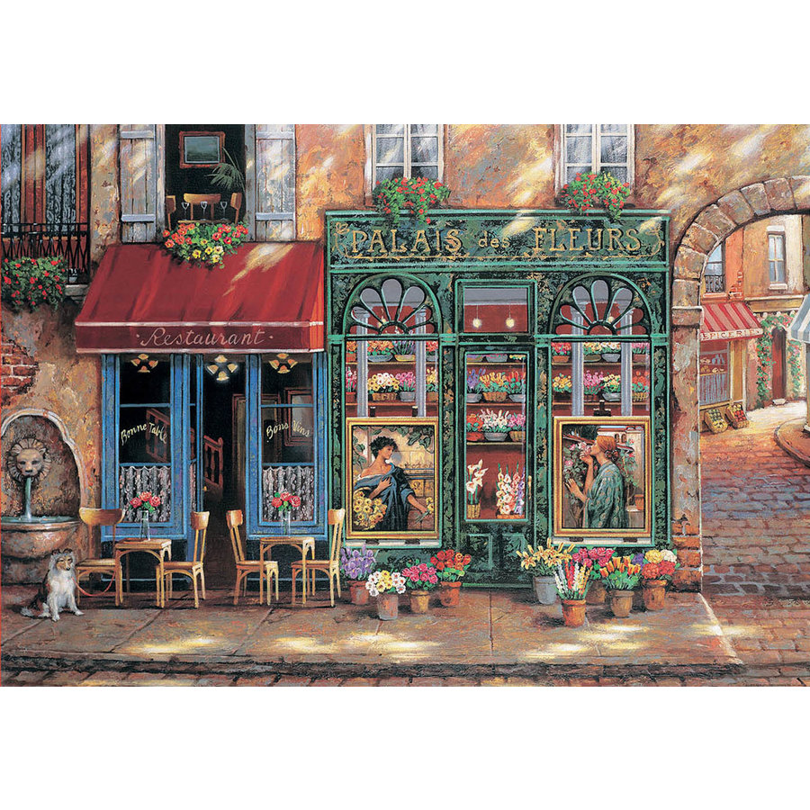 Palace of Flowers - jigsaw puzzle of 1500 pieces-1