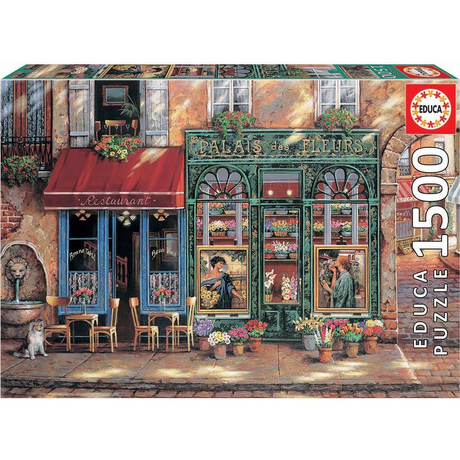 Palace of Flowers - jigsaw puzzle of 1500 pieces-2
