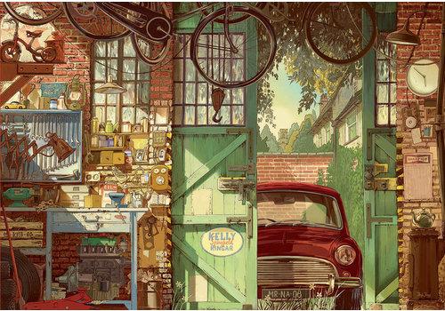 Oude Garage - 1500 stukjes