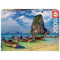 thumb-Krabi in Thailand - jigsaw puzzle of 2000 pieces-2
