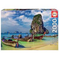 thumb-Krabi in Thailand  - puzzel van 2000 stukjes-2