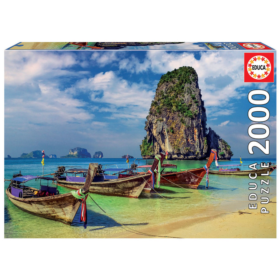 Krabi in Thailand - jigsaw puzzle of 2000 pieces-2