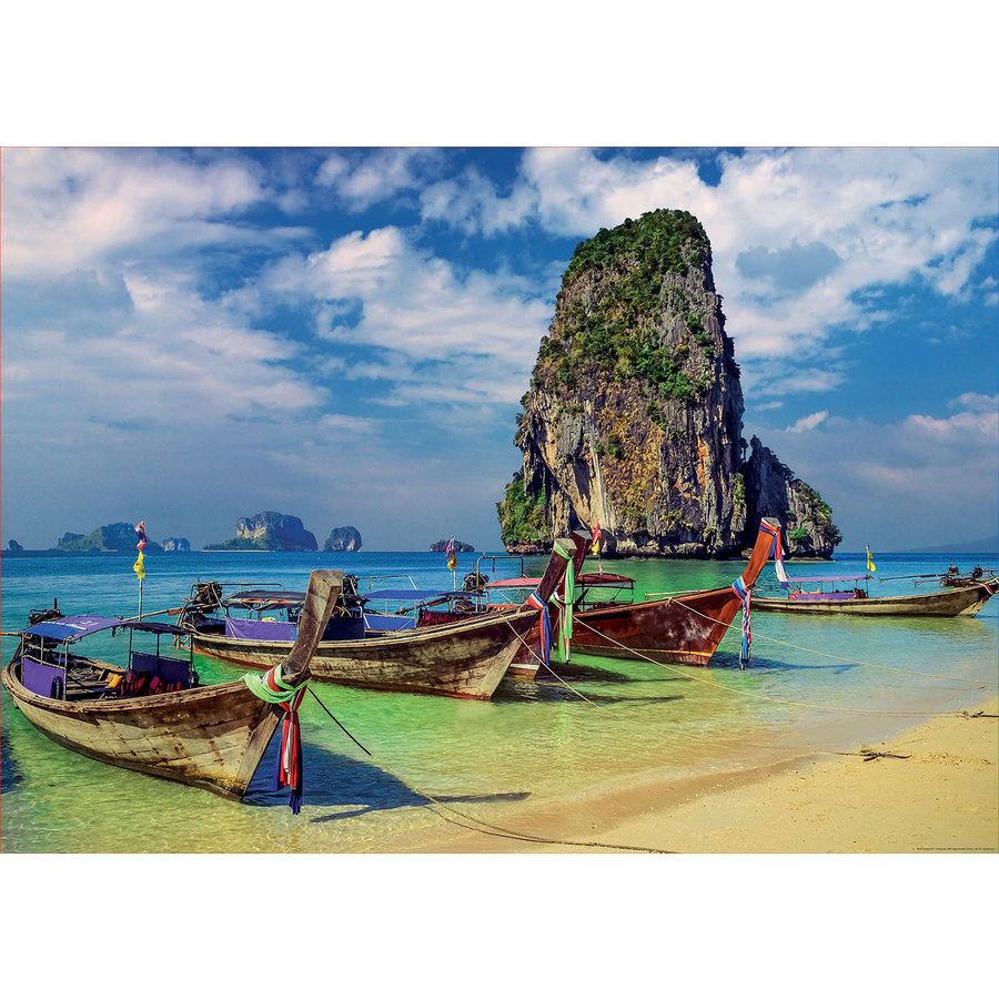 Krabi in Thailand - jigsaw puzzle of 2000 pieces-1