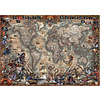 Educa Pirates Map -  jigsaw puzzle of 2000 pieces