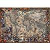 Educa Wereldkaart van de Piraten - puzzel van 2000 stukjes